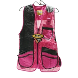 Ladies Miz Mac Heatwave Mesh Vest Hot Pink, (MIZ-810S-HP)