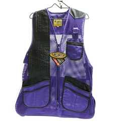 Ladies Miz Mac Heatwave Mesh Vest Purple, (MIZ-810S-PU)